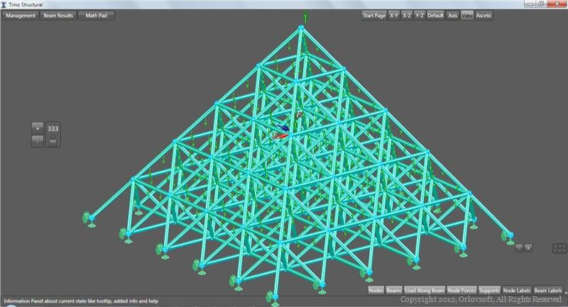 Pyramid construction research by TIMO Structural